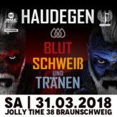 Haudegen Tour 2018 – Blut Schweiß & Tränen