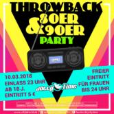 Throwback 80er & 90er Party