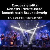 Europas größte Genesis Tribute-Band